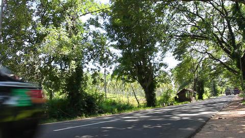 Road, Sri Lanka Footage