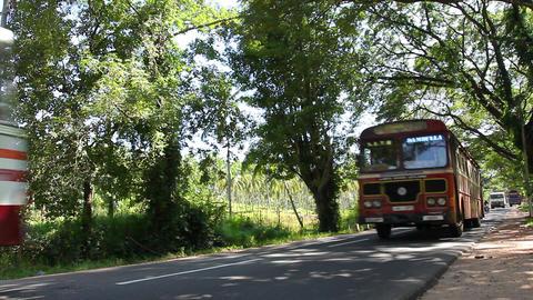 Road, Sri Lanka Stock Video Footage