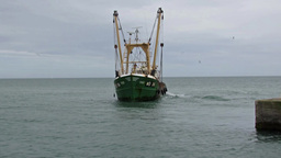 Fishing Trawler 1 Footage