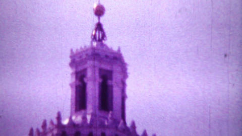 Сhurch - Vintage Super8 Film Stock Video Footage