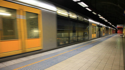 City Rail 2 Stock Video Footage
