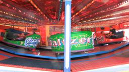 Amusement Park 2 Stock Video Footage