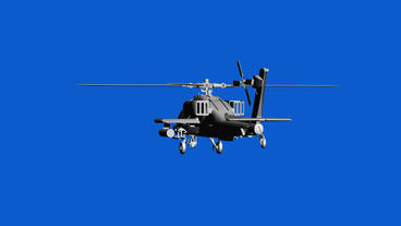 Rotation of 3D Helicopter.rotor,transport,flight,fly,air,aircraft,sky,transporta Animation