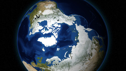 Zooming In Planet Earth From Outer Space Stock Video Footage