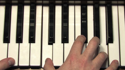 Piano close up Stock Video Footage