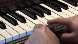 Piano Keys 1 Footage