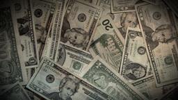 Money Rotate Clockwise Stock Video Footage