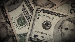 Money Rotate Close Up Stock Video Footage