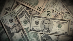 Money Rotate Zoom Out Stock Video Footage