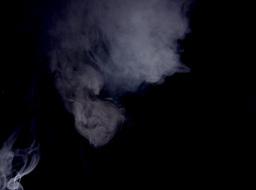 White Smoke Effect (Medium Shot) Stock Video Footage