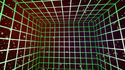 Cubed grid lines Animation