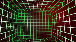 Cubed grid lines Stock Video Footage