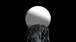 Pulsating radar Stock Video Footage
