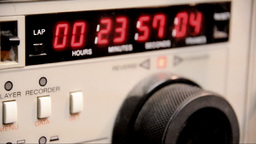 "Timecode readout 3/4"" U-matic deck Footage"