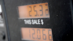 Gas station counter Stock Video Footage
