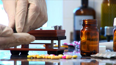PHARMACY 11 Stock Video Footage