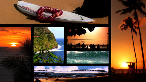Collection of images from Hawaii Stock Video Footage