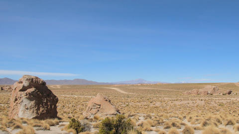 Altiplano time lapse Stock Video Footage