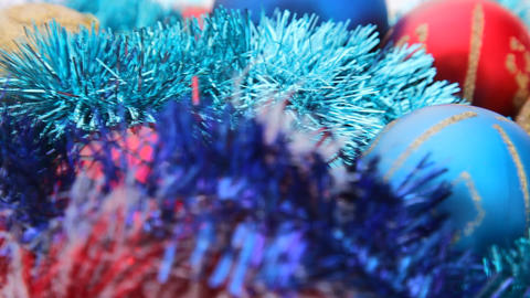 Turning Cristmas Decoration HD stock footage