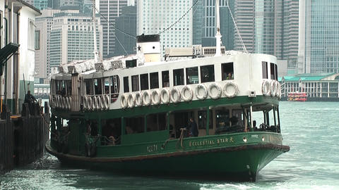 Hong Kong ferry edit 0012 HD Footage