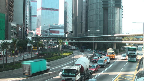 Hong Kong island edit 0964 HD Stock Video Footage