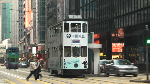 Hong Kong island edit 0995 HD Stock Video Footage