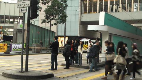 Hong Kong island edit 0998 HD Stock Video Footage