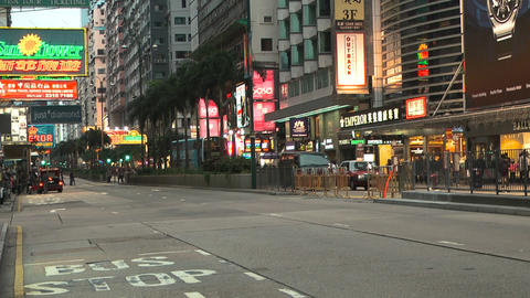 Hong Kong Natan road edit 0109 HD Footage
