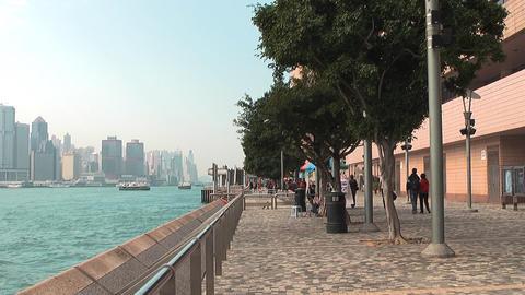 Hong Kong Natan road edit 0938 HD Stock Video Footage