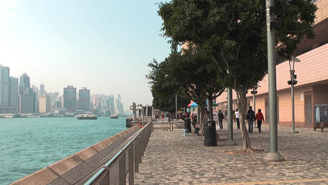 Hong Kong Natan road edit 0938 HD Stock Video Footage