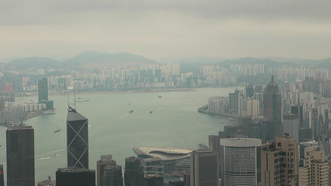 Hong Kong peak 0064 HD Stock Video Footage