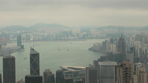 Hong Kong peak 0064 HD Footage