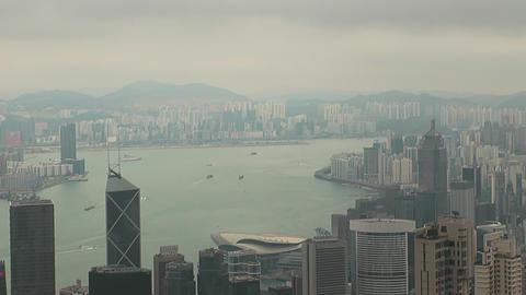 Hong Kong peak 0064 HD Stock Video Footage