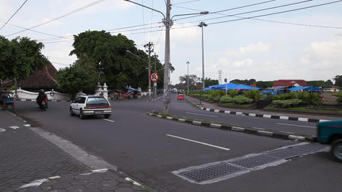 Jogjakarta city Stock Video Footage