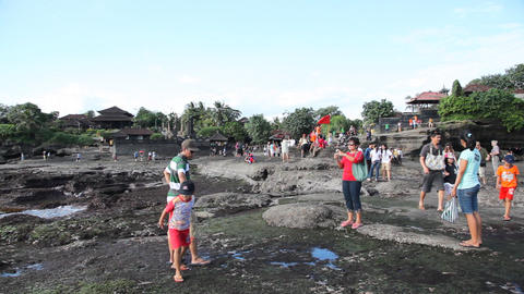 Tanah Lot Temple Footage