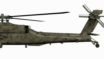 Moving of 3D Helicopter.rotor,transport,flight,fly,air,aircraft,sky,transportati Animation