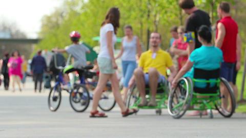 Wheelchair Stock Video Footage