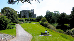 Birr Castle and Gardens 1 Stock Video Footage