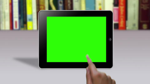 Hand Gestures on a Green Screen Stock Video Footage