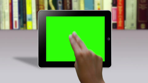 Hand Gestures on a Green Screen Animation