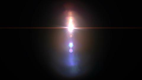 レンズフレア CG動画素材
