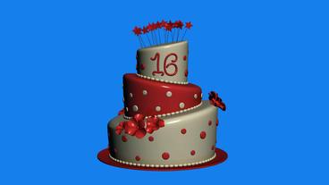 Delicious birthday... Stock Video Footage