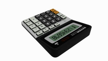 Calculator.business,office,accounting,finance,button,work... Stock Video Footage
