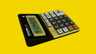 Calculator.business,office,accounting,finance,button,work,object,financial,numbe stock footage
