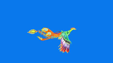 Flying Phoenix.bird,design,art,wing Animation