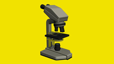 Microscope in aboratory,research equipment Stock Video Footage