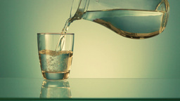 Drinking water Stock Video Footage