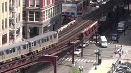 Chicago Loop Stock Video Footage