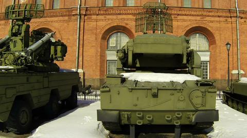 Tank Museum stock footage