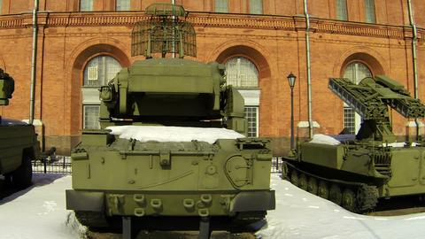 Tank Museum Stock Video Footage
